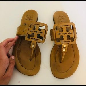 Tory Burch Square Miller Sandals